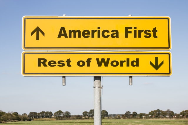 America first - rest of the world down