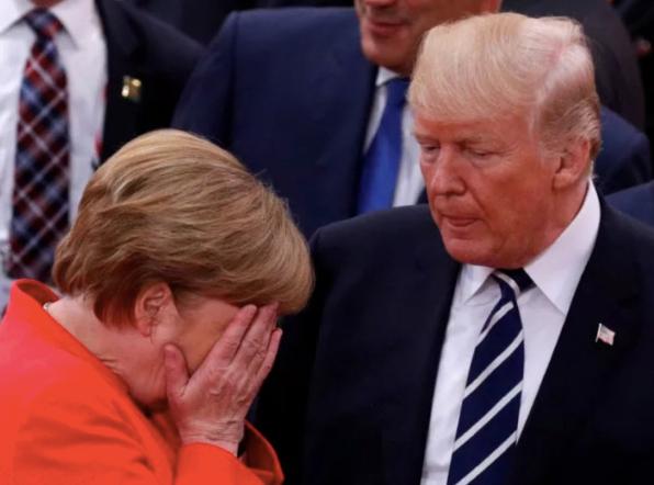Merkel vs Trump 1